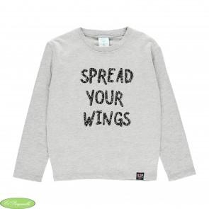 Camiseta punto fantasía alas