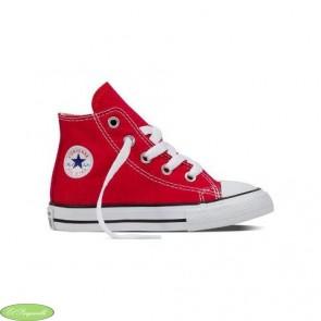 Converse de bota roja infantil