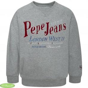 SUDADERA ARTHUR pepe jeans niño en color gris