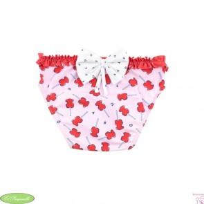 Braguita baño ositos Tous rojo y rosa niña