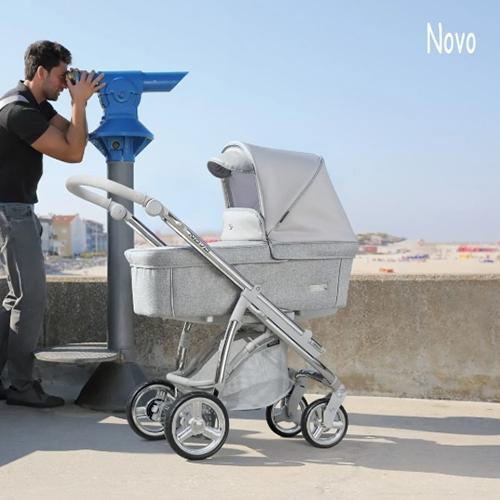 Cochecito de bebe Bebecar pack novo en el parquecillo online