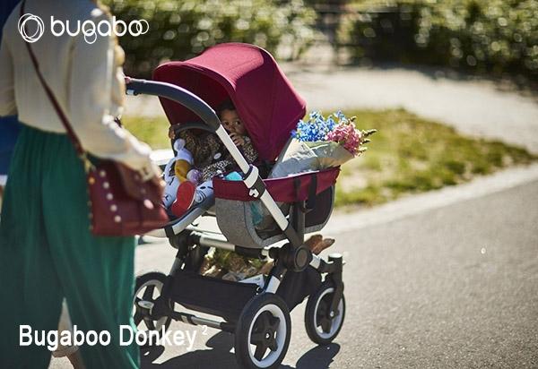 Cochecito gemelar de bebe Bugaboo donkey online