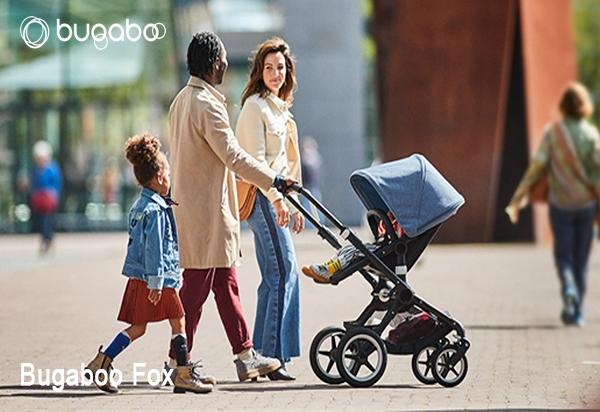 Carrito de bebe Bugaboo Fox online en el parquecillo